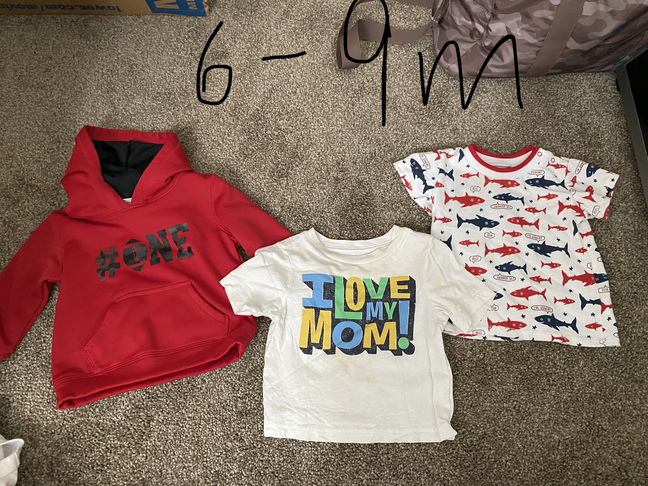 Baby Boy Clothes Sizes Range