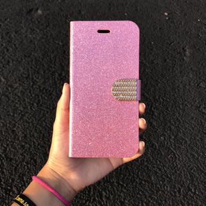 Beautiful glitter pink iPhone 6s Plus Case for Sale in Sterling, VA
