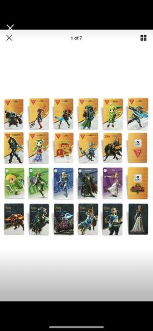 Zelda BOTW Amiibo Cards for Sale in Bellerose, NY