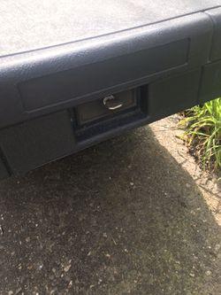 Black Pickup Tool Box Thumbnail