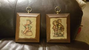 Vintage Hummel Wall plaques for Sale in Chapel Hill, NC