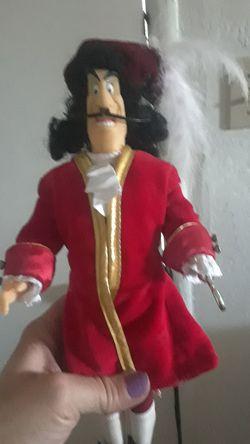 Disney Captain Hook doll Thumbnail