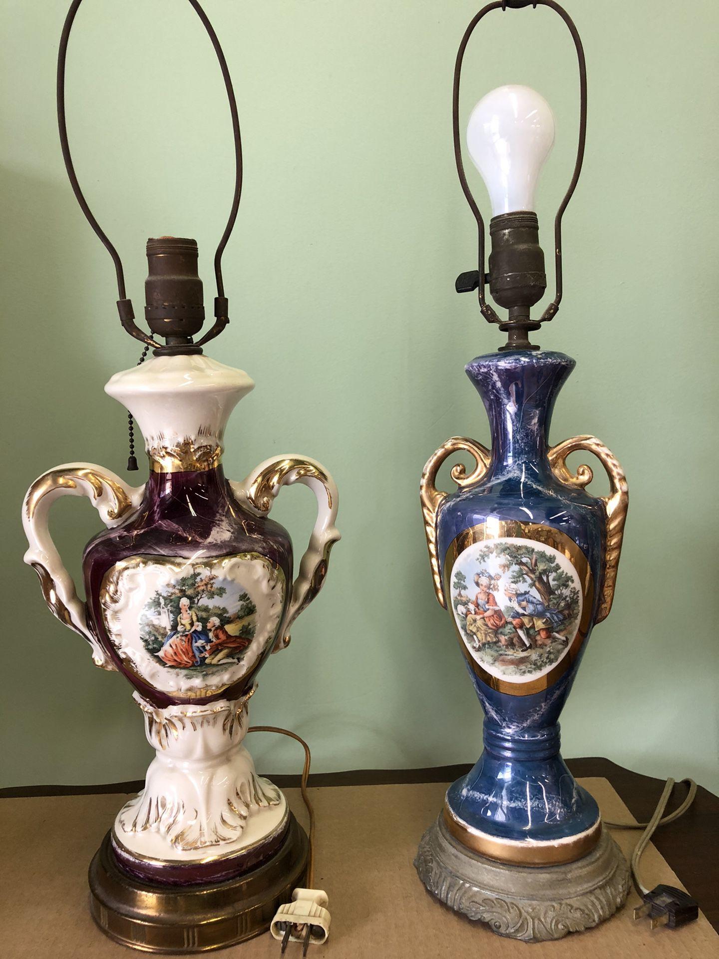 Vintage British Lamps