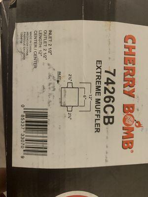 Photo Cherry bomb extreme muffler new