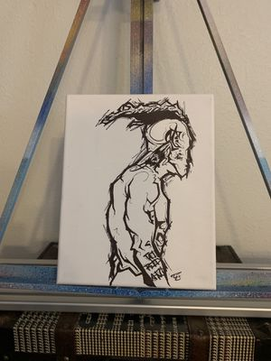XXXTENTACION SKINS Tribute Painting for Sale in Salt Lake City, UT