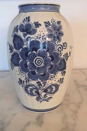 Vase Blauw Delfts Holland for Sale in Baltimore, MD