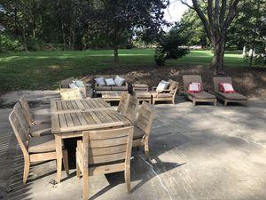 Restoration Hardware teak patio furniture for Sale in McLean, VA