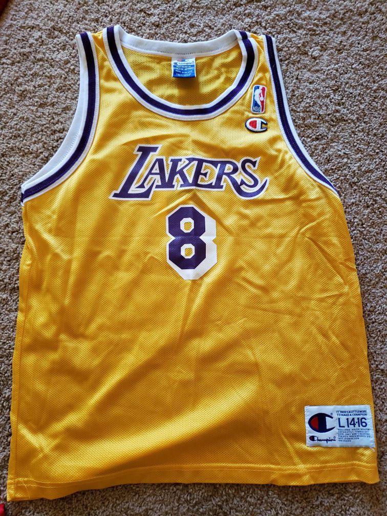 Boys Kobe Bryant Lakers 90s Jersey for Sale in Spanaway, WA ...