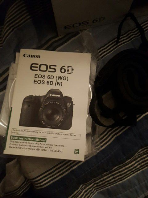 Canon 6d With Ordinal Box For Sale In North Miami Beach Fl Offerup