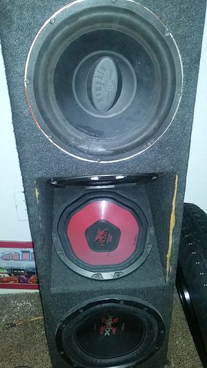 Xplode and memphis 12 inch in box for Sale in Riverview, FL