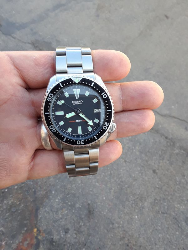 Seiko 7002-7009 automatic scuba divers photos show the condition of the  watch  for Sale in Los Angeles, CA - OfferUp