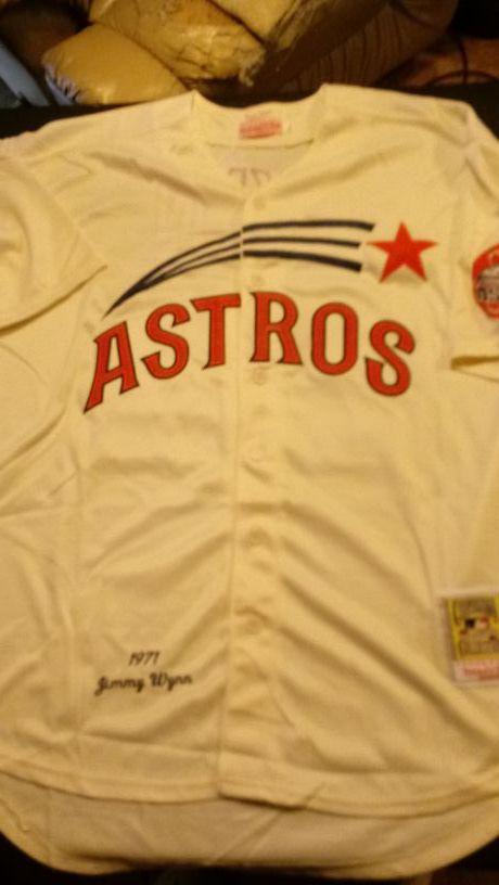new concept 004fc 1e2c0 Mitchell & Ness 1971 Jimmy Wynn Astros jersey XL