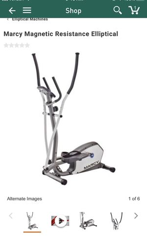 Marcy Elliptical (1 month old) for Sale in Bristow, VA