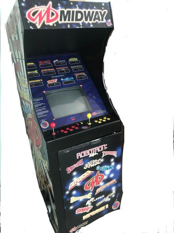 Midway Arcade Cabinet Cabinets Matttroy