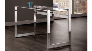 New Boca modern glass home office desk for Sale in Miami, FL