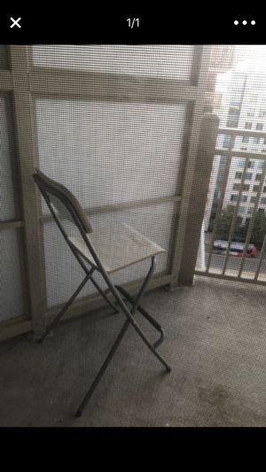 Ikea white bar chair for Sale in Arlington, VA