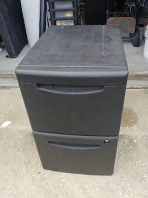Heavy duty plastic file cabinet for Sale in Lake Mary, FL