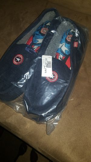 marvel Captin America slipers for Sale in Fort Washington, MD
