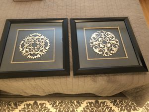 2 marching framed pictures for Sale in Fairfax, VA