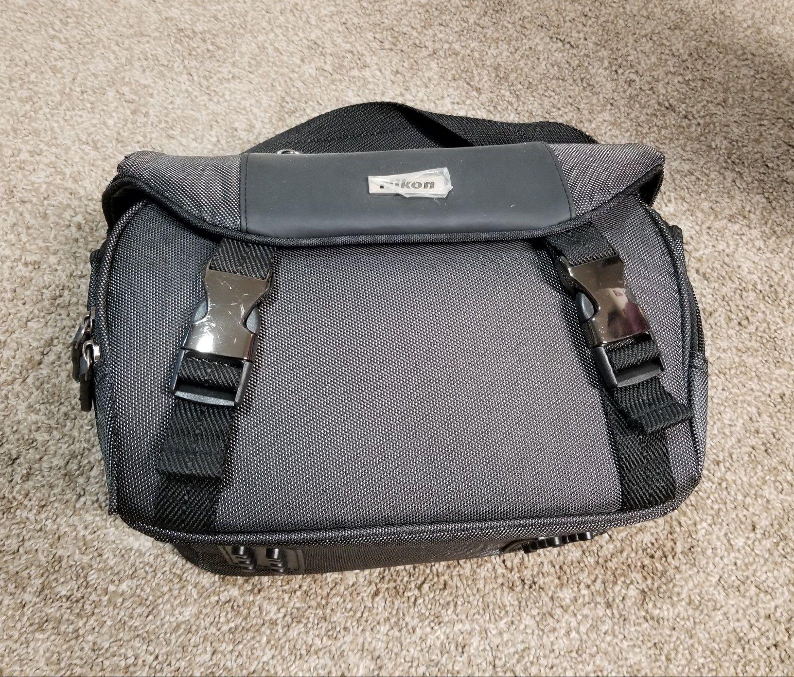 Nikon deluxe digital SLR Camera Case