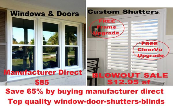 01f114b28775 Replacement windows and shutters for Sale in Irvine