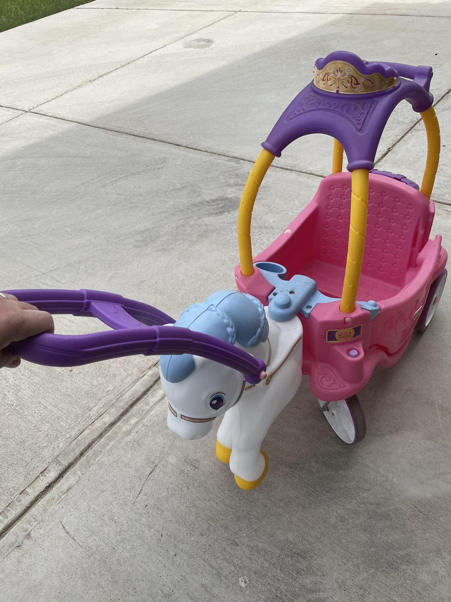 Princess Carriage Toddler Car