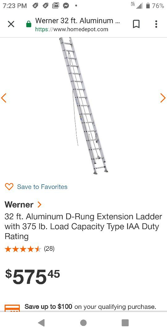 New and Used Ladder for Sale in Erie, PA - OfferUp
