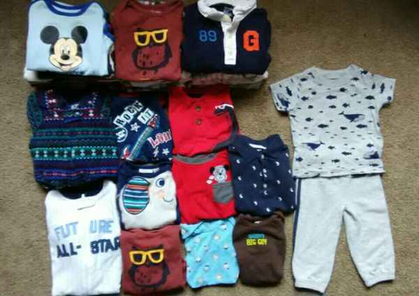 dce14d418f82 Baby boy clothing lot