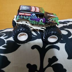 Grave Digger Hot Wheel Truck Thumbnail