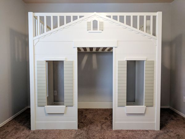 Strange Pottery Barn Kids Playhouse Loft Bed Best Image Libraries Sapebelowcountryjoecom