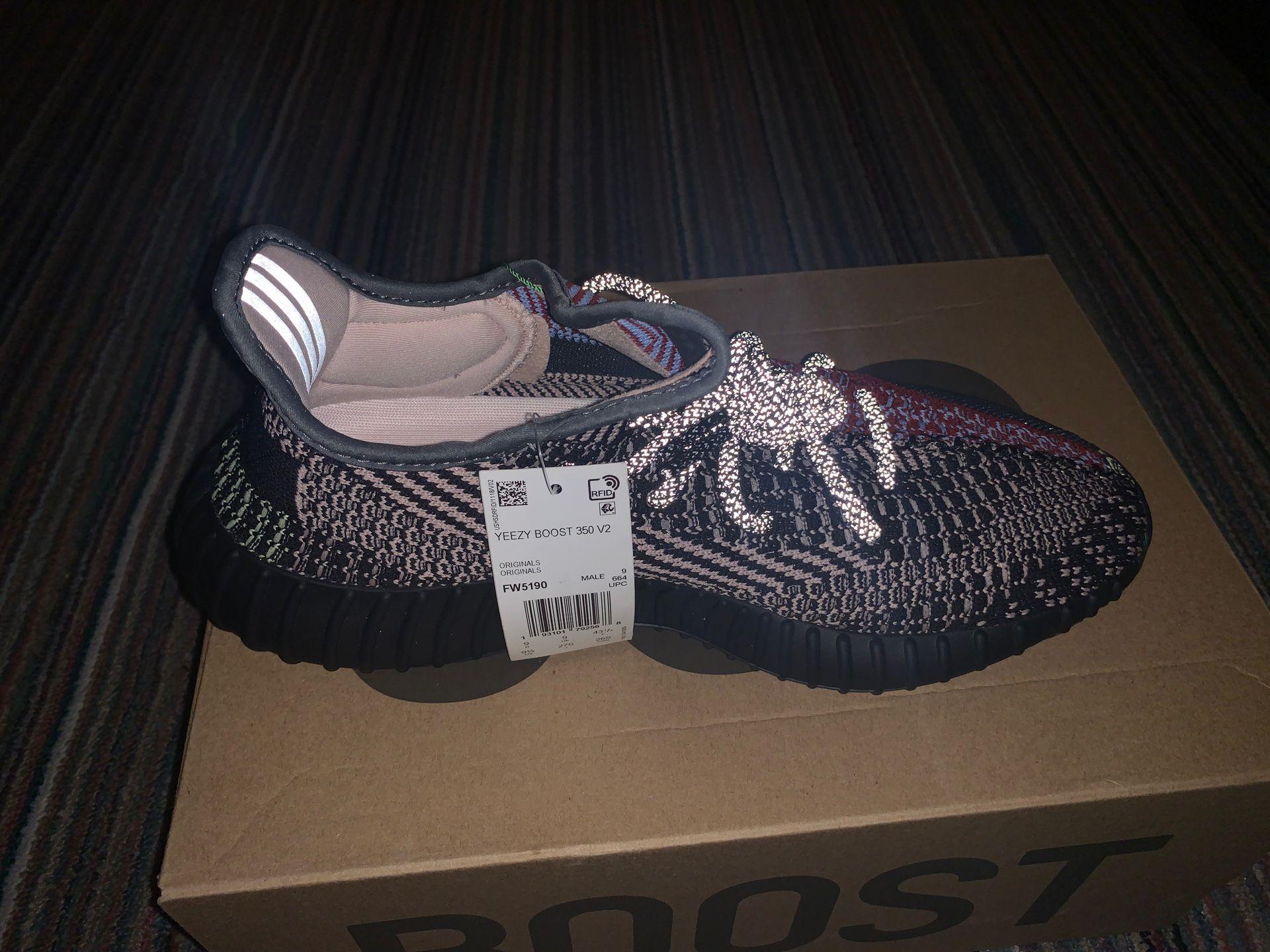 Men Adidas Yeezy Boost 350 V2 Yecheil (Non reflective)