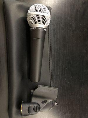 SHURE SM58 Microphone for Sale in Lake Ridge, VA
