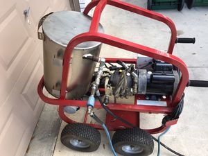 Photo Excellent condition COMMERCIAL HOT2GO ELECTRIC HOT WATER PRESSURE WASHER REDUCED TO $1800