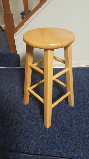 Wood stool for Sale in Clifton, VA