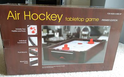 Air Hockey Tabletop Game (Westminster) Thumbnail