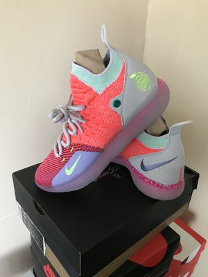 579b50803672 New Limited Nike KD Zoom 11 EYBL Peach Jam Sizes 8.5 and 11 for Sale in  Sunrise