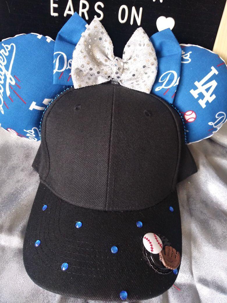 Dodger hat mickey ears