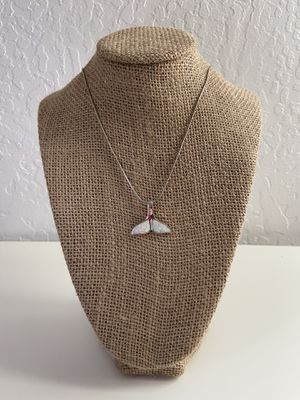 Photo Whale Tail Necklace