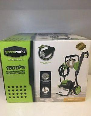 Greenworks pressure washer for Sale in Broken Arrow, OK