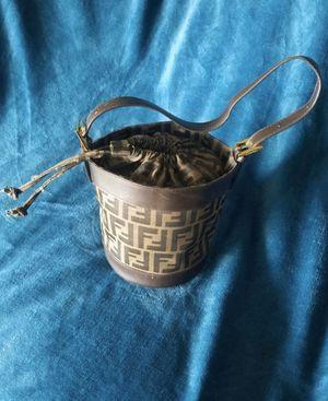 Photo Small Vintage Fendi Bucket Purse