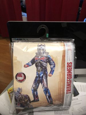 Halloween costume, Transformers Optimus Prime for a child size (10-12 ) for Sale in Gaithersburg, MD