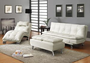 3 pcs SET ( sofa bed + chaise +ottoman) for Sale in Hialeah, FL