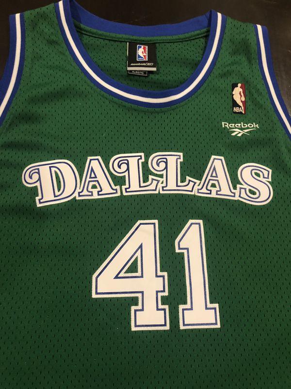 064d6e85146 Dirk Nowitzki Dallas Mavericks Throwback for Sale in Plano