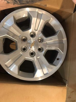 4 18 inch factory chevy rims 250 0b0 for Sale in Dupo, IL