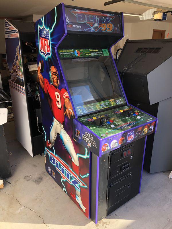 nfl blitz 99 arcade