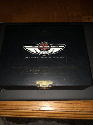 Photo 100th Anniversary Edition Harley Davidson Hallmark Keepsake Ornament Set