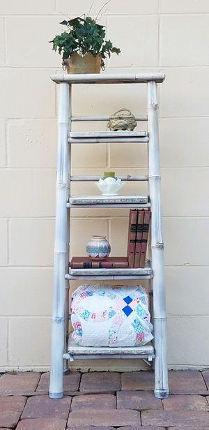 Bamboo Ladder Bookshelf for Sale in Sanford, FL