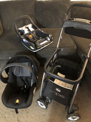 Chicco keyfit 2 car seat base and caddy for Sale in Fullerton, CA