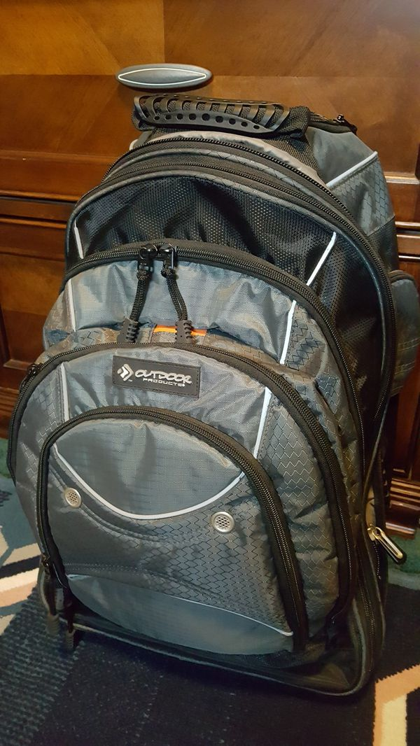 Outdoor Products Sea Tac Rolling Backpack 45 9 Liter Storage