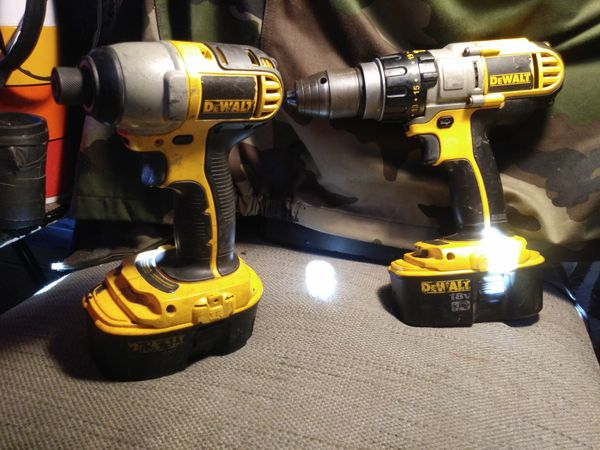 Dewalt 18v Xrp Nicad 2 Tool Dcd950 1 Hamrill Dc825 4 Impact Driver W Batteries Tools Machinery In Los Angeles Ca Offerup